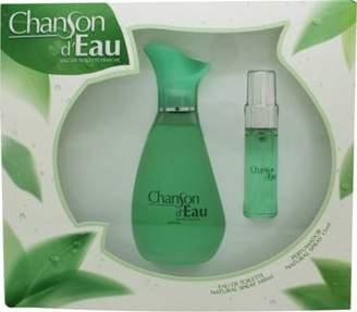 Coty Chanson Deau Gift Set 100mL Edt + 15mL Edt For Women
