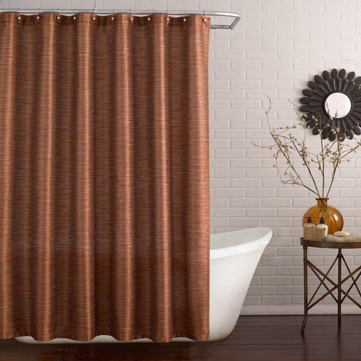 Ställ Deron Shower Curtain in Vermillion