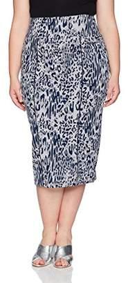 Melissa McCarthy Women's Plus Size Pencil Skirt