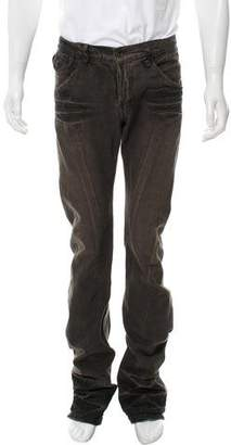 Julius Distressed Bootcut Jeans