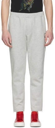 Alexander McQueen Grey Side Zip Lounge Pants