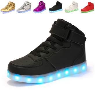 3.1 Phillip Lim Anluke Kid Boys Girls 11 Colors Led Sneakers Light Up Flashing Shoes For Halloween ( / EU 35 )