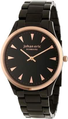 Johan Eric Men's JE9000-10-007B Helsingor and Rose Gold Ion-Plated Steel Bracelet Watch