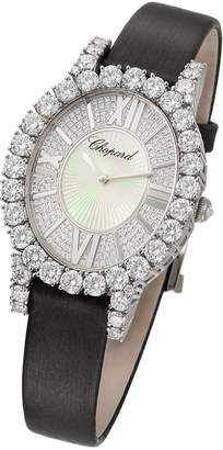 Chopard White Gold and Diamond L'Heure du Diamant Watch 34mm