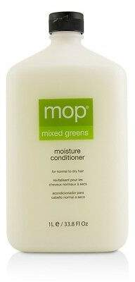 MOP NEW  Mixed Greens Moisture Conditioner (For Normal to Dry Hair) 1000ml