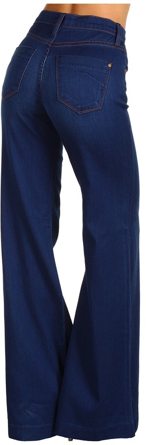 James Jeans Palazzo XXL Flare Leg in Le Bleu