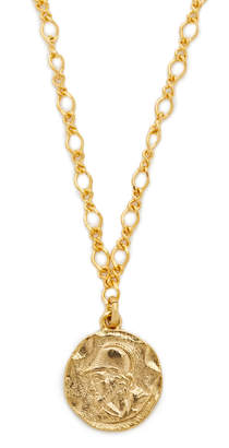 Kenneth Jay Lane Coin Pendant Necklace $35 thestylecure.com