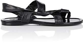 The Row Women's Giada Leather Slingback Sandals