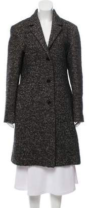 Calvin Klein Collection Woven Knee-Length Coat