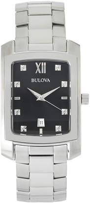 Bulova 96D125 Silver-Tone Watch