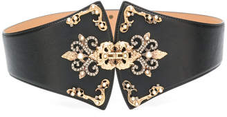 Elisabetta Franchi embellished belt