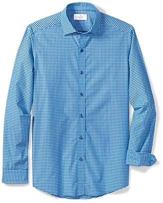 Buttoned Down Men's Fitted Supima Cotton Cutaway-Collar Sport Shirt