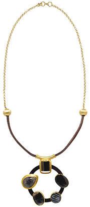 "Mela Artisans Handcrafted Pendant Necklace ""Nubia"""