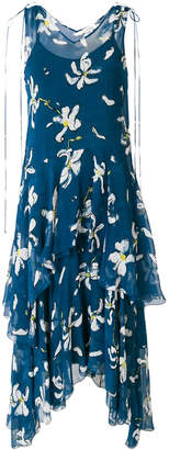 Isa Arfen flared floral midi dress