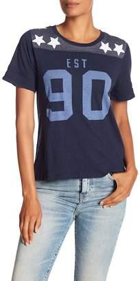 Lucky Brand 90s Football Tee