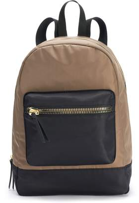 Steve Madden Nyc NYC Two Tone Backpack