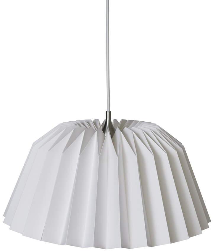Pleats 116 Megatwo Pendelleuchte M, silk white