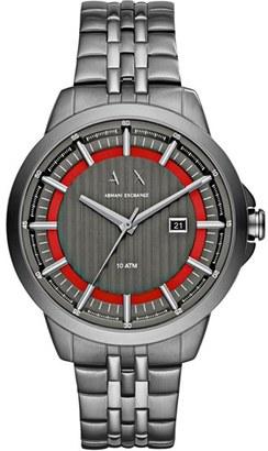 Men's Ax Armani Exchange Bracelet Watch, 44Mm $180 thestylecure.com