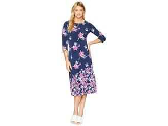Tommy Bahama Costa Cactus 3/4 Sleeve Midi Dress