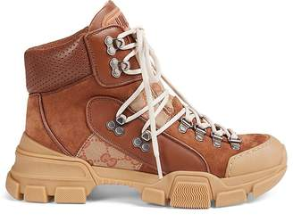 Gucci Women's Flashtrek Hiker Boots