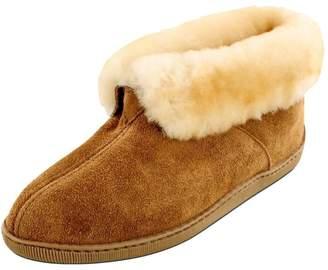 Minnetonka Men's Sheepskin Ankle Boot slippers 15 M