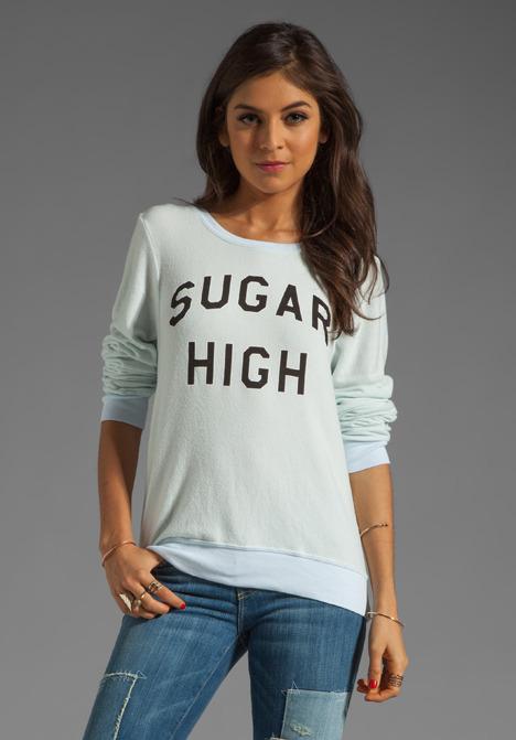 Wildfox Couture Sugar Rush Baggy Beach Jumper