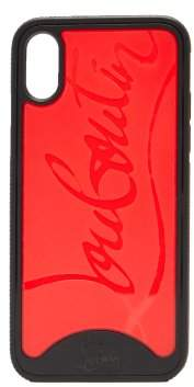 Christian Louboutin Loubiphone Iphone X Case - Mens - Black Multi