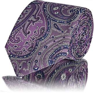 Barneys New York Men's Paisley Jacquard Silk Necktie