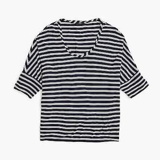 J.Crew Dolman-sleeve top in stripes