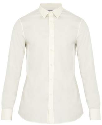 Alexander McQueen Single-cuff silk shirt