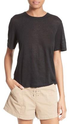 Women's A.l.c. Alber Linen Tee $175 thestylecure.com