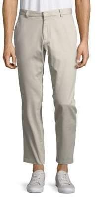 Black & Brown Black Brown Bedford Corduroy Cropped Trousers