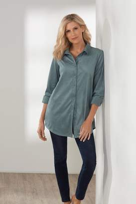 Soft Surroundings Softly Sueded Shirt