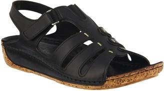 Spring Step Leather Fisherman Sandals - Evelin