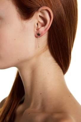 KARAT RUSH 14K Yellow Gold Crown Earrings