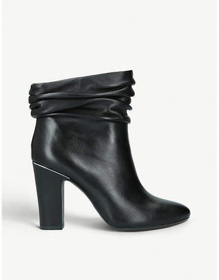 DKNY Sabel leather ankle boots