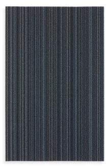 Chilewich Stripe Shag Doormat, 18 x 28