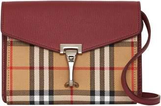 Burberry Baby Macken Vintage Check Crossbody Bag