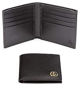 Gucci Men's Leather Bi-Fold Wallet