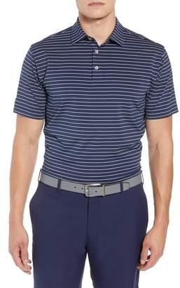 Peter Millar Halifax Stripe Stretch Jersey Polo