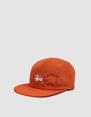 Stussy Basic Stock Camp Cap in Orange