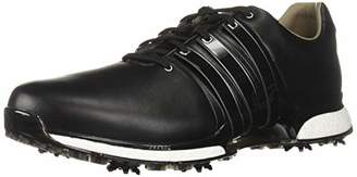 adidas Men's TOUR360 XT Golf Shoe, core Black/Silver Metallic, 7.5 M US