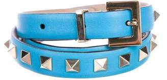 Valentino Rockstud Leather Belt w/ Tags