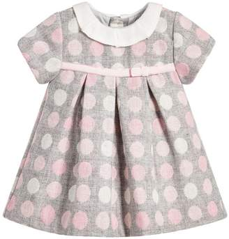 Mayoral Pink Polka Dot Dress