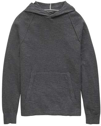Banana Republic Textured Cotton Sweater Hoodie