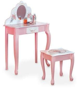 Teamson Vanity Table and Stool Set