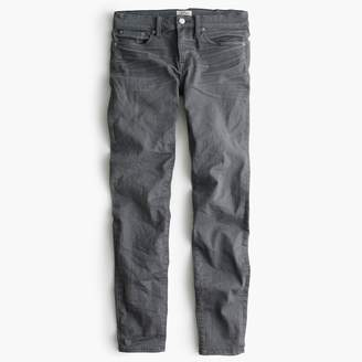 "J.Crew Tall 8"" toothpick jean in grey"