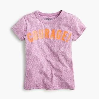 "J.Crew Girls' ""courage!"" T-shirt"