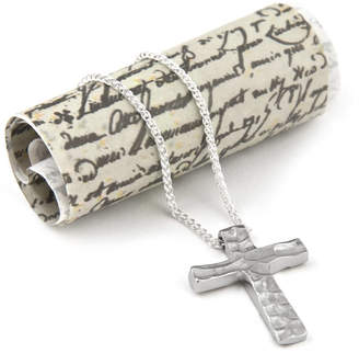 Neve Latham & Dune Cross Silver Necklace