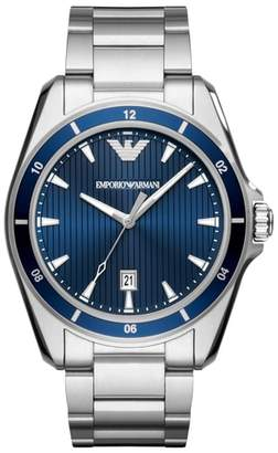 Emporio Armani Round Bracelet Watch, 44mm